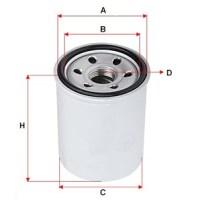 масляный фильтр для вилочного погрузчика KOMATSU