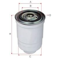 Топливный фильтр вилочного погрузчика KOMATSU.